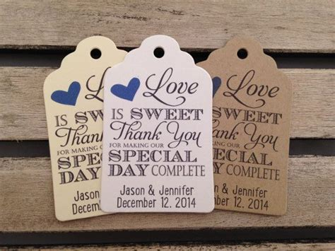 Wedding Favor Labels Template by 24 Favor Tag Templates Free Sle Exle Format
