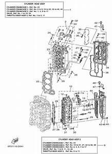 Cylinder Crankcase For 2005 Yamaha F250
