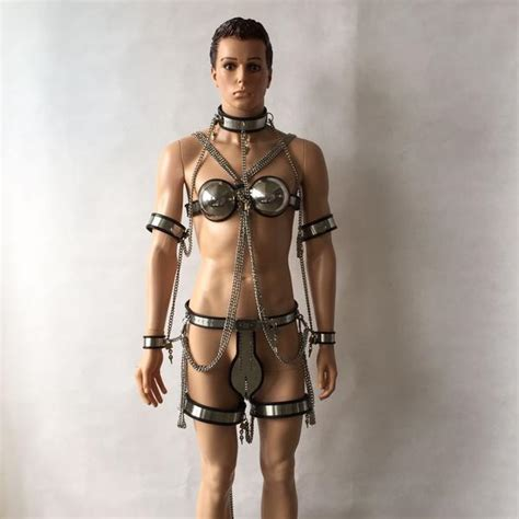 Sex Tools For Sale Hot 9 Pcs/set Male Chastity Belt Sexy