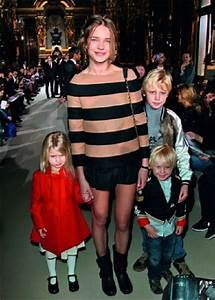 Natalia Vodianova with her children: Neva, Viktor, and ...