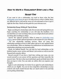 Well Written Scholarship Essays Well Written Scholarship Essays For  Essay Of Water Pollution Well Written Scholarship Essays For Students Mba  Reapplicant Essay