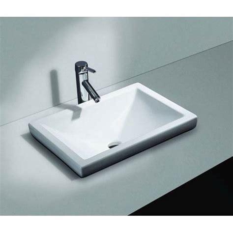 Small Drop In Bathroom Sink by Drop In Bathroom Sinks Bellacor