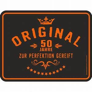 Geburtstagsbilder Zum 50 : 50 geburtstag original 50 jahre blechschild 22x17cm gro ~ Eleganceandgraceweddings.com Haus und Dekorationen