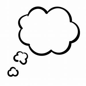 Cloud, Bubble, handdrawn, Dream, think, Thinking, thought icon