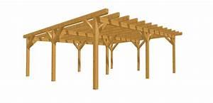 Carport Holz Selber Bauen : holz carport holz ~ Markanthonyermac.com Haus und Dekorationen