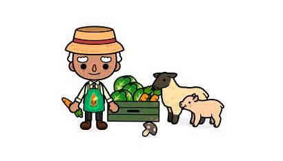 Toca Farm Farmer Farming Boca Cartoon App