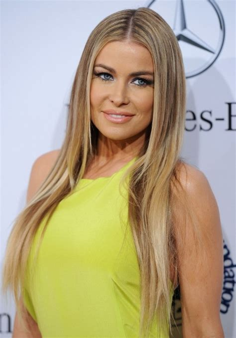 Carmen Electra Hair Color Lowlights