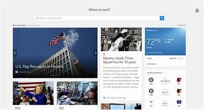 Edge Browser Homepage Opera Chrome Microsoft Firefox