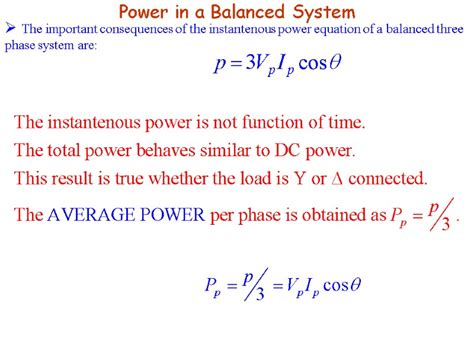 Three Phase Power Equations Tessshebaylo