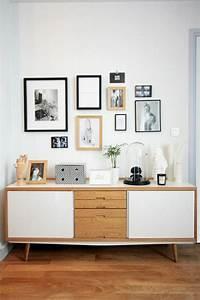 Deco Salon Ikea : d co salon bahut ikea en bois pour le salon moderne avec sol en parquette clair ~ Teatrodelosmanantiales.com Idées de Décoration