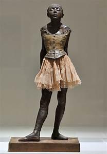 Pictures of Edgar Degas Ballerina Sculptures in France ...