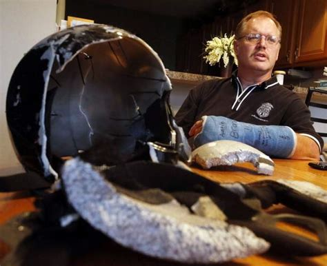 Veteran Iowa Motorcycle Rider Becomes Helmet Advocate