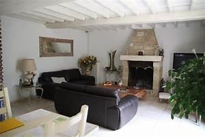 decoration salon salle a manger avec cheminee With deco salon avec cheminee