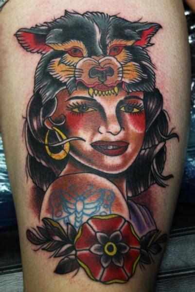 school gypsy tattoo  electric soul tattoo