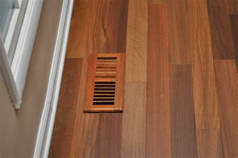 Install Hardwood Floors Around Heating & A/C Vents   One