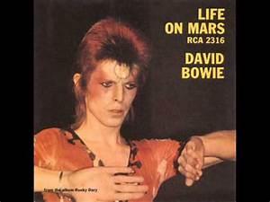 David Bowie - Life On Mars - YouTube
