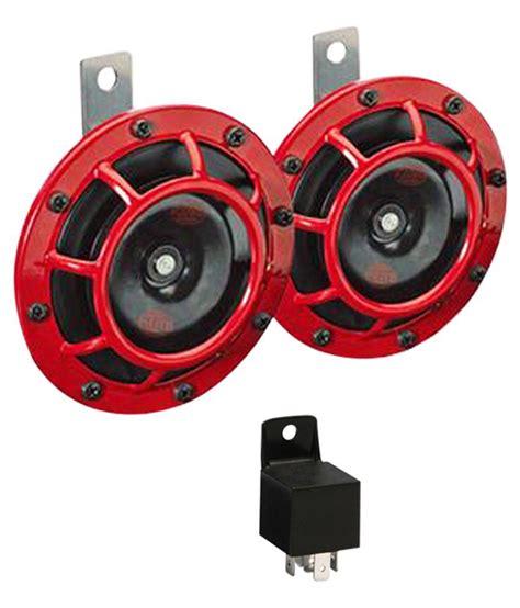 hella car loud grill horn pair relay hyundai
