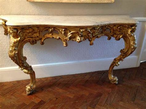 vintage console tables for a brief history of console tables 8826