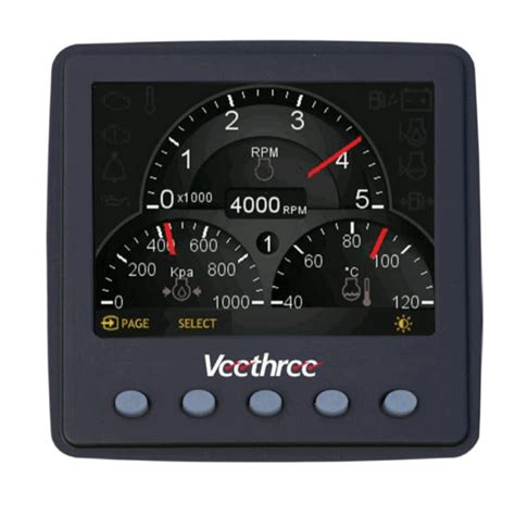Digital Boat Gauges by Digital Gauges The Hull Boating And Fishing Forum