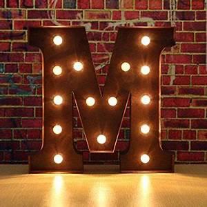Lampe Mit Buchstaben : ber ideen zu beleuchtete buchstaben auf pinterest marquee beleuchtung festzelt ~ Watch28wear.com Haus und Dekorationen