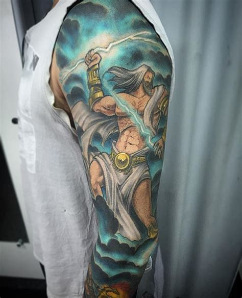 Zeus Tattoos Designs, Ideas And Meaning  Tattoos For You