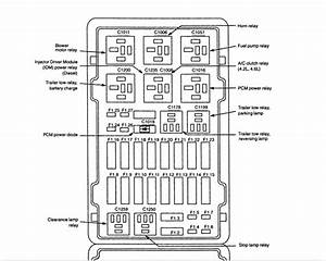 Ford E150 Relay Diagram