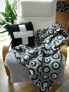 Granny Square Decke Häkeln : granny square decke crochet kissen tunesisch h keln handmade by me ~ Orissabook.com Haus und Dekorationen