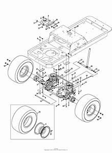 Mtd 17af2ack099  247 25061   Ztl8000   2014  Parts Diagram For Drive  U0026 Rear Wheels