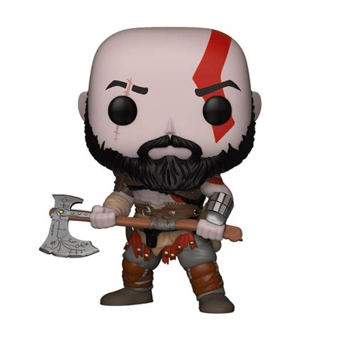 god  war kratos pop vinyl figure merchandise zavvi