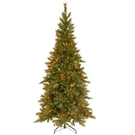 national tree company 7 1 2 ft tiffany slim fir hinged
