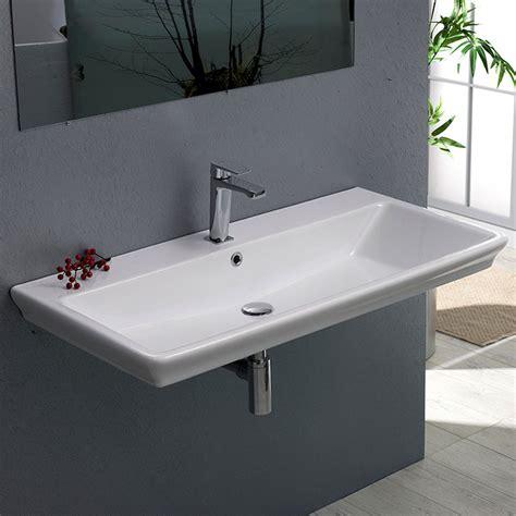 arica rectangle ceramic  sink zuri furniture