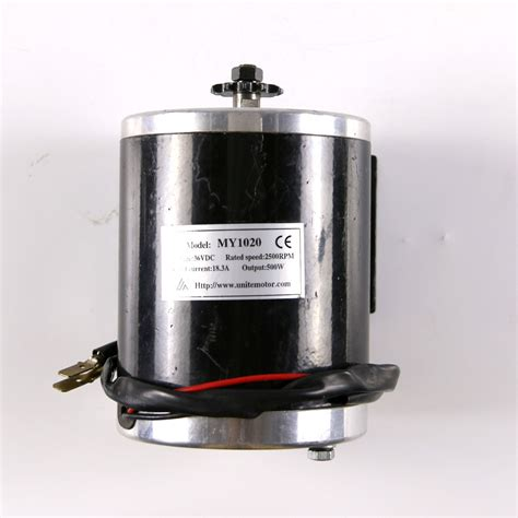 36v 500w electric motor unite motor fits evo scooter my1020 tricycle a2
