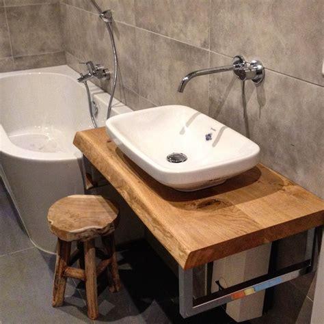 Waschtisch Mit Holzplatte by Waschtisch Waschtischplatte Holzkonsole Holzplatte