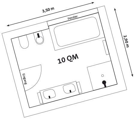 10 Quadratmeter Zimmer by Badezimmer 10 Quadratmeter Badezimmer