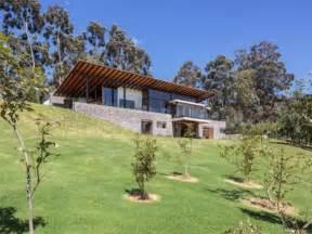 modern home plan small modern hillside house plans with attractive design modern house design