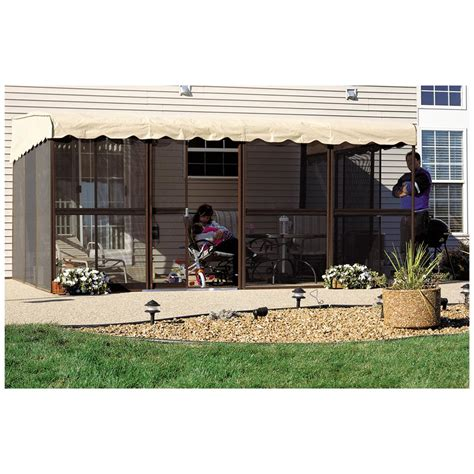 Patio Mate 10 Panel Screen Enclosure by Home Products 10 Panel 45 Quot Patio Mate Screened