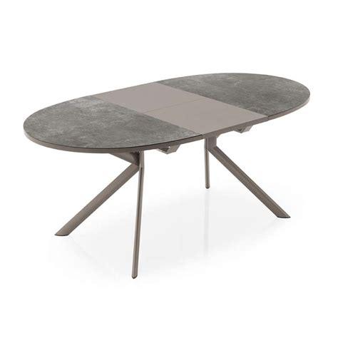 Table Ovale Extensible Table Ovale Extensible En C 233 Ramique Giove Connubia 174 4 Pieds