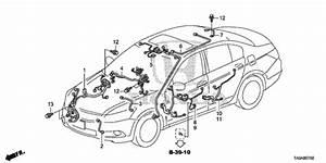 Wire Harness  3  For 2012 Honda Accord Sedan