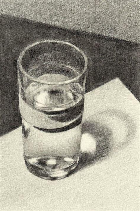 art  drawing glass   shadow drawing