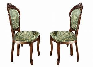 Stühle 2er Set : st hle 2er set mit aufwendigen schnitzereien esszimmer brigitte st gallen ~ Frokenaadalensverden.com Haus und Dekorationen