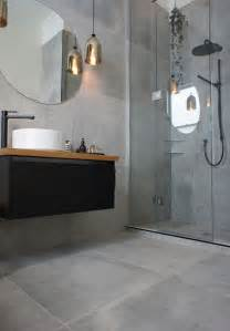 gray tile bathroom ideas 32 grey floor design ideas that fit any room digsdigs