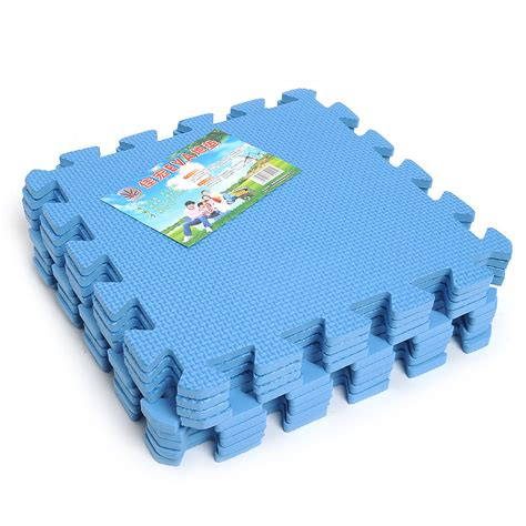 9 pcs interlocking anti fatigue waterproof puzzle floor