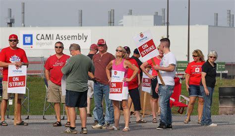 sides remain    gm cami strike union