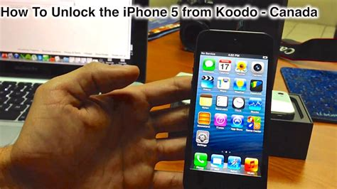 how to unlock a iphone 5 how to unlock iphone 5 from koodo