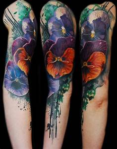 35+ Beautiful Watercolor Tattoos – Desiznworld