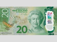 New Zealand's Brighter Money $20, $50 and $100 Notes Now
