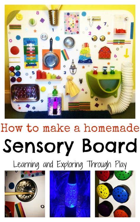 learning  exploring  play diy sensory board fun