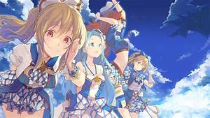 Granblue, Fantasy, Clouds, Anime, Girls, Wallpapers, Hd, Desktop, And, Mobile, Backgrounds