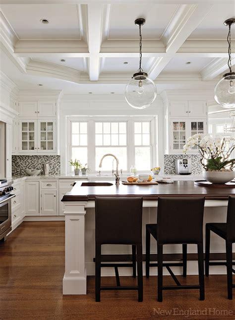 classic kitchen backsplash new home hardwood floors white cabinetry 2221