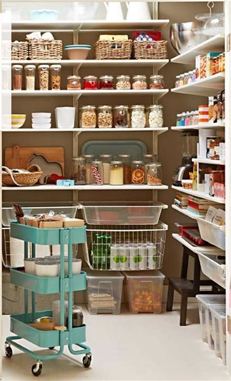 Ikea Pantry, Using Algot Shelving  Organizing  Pinterest